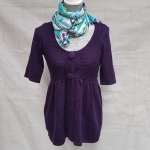 INC International Concepts Babydoll Cardigan